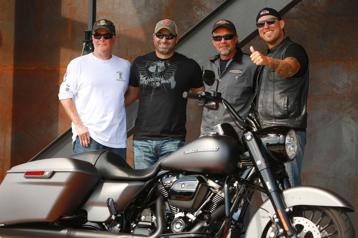 Bronze Star Recipient Surprised With Gift Of New Harley-Davidson Motorcycle