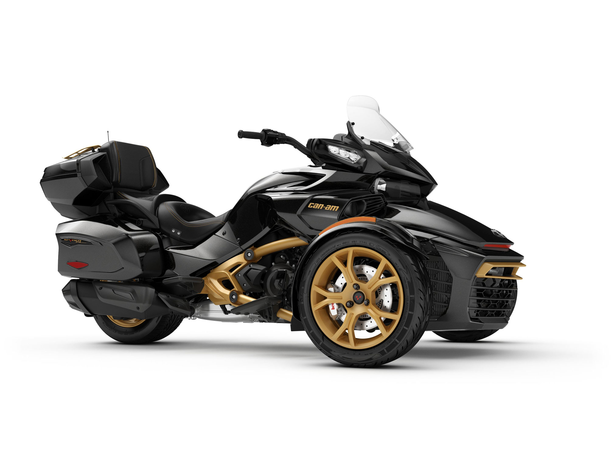 2018 can am spyder f3 limited review total motorcycle. Black Bedroom Furniture Sets. Home Design Ideas