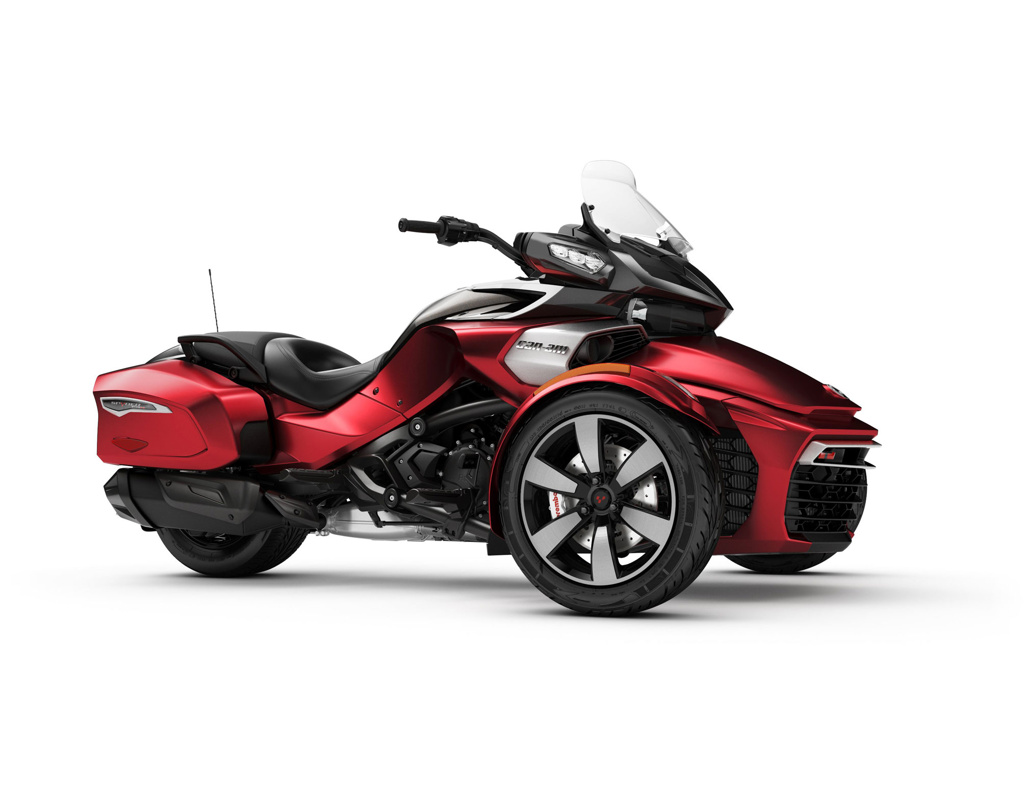 2018 can am spyder f3 t review totalmotorcycle. Black Bedroom Furniture Sets. Home Design Ideas