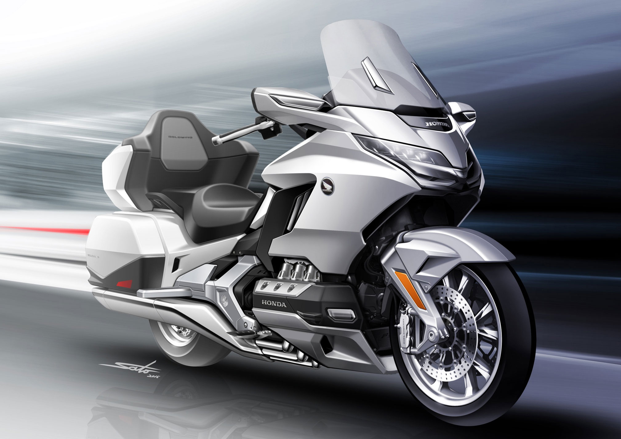 2018 honda gold wing5 totalmotorcycle. Black Bedroom Furniture Sets. Home Design Ideas