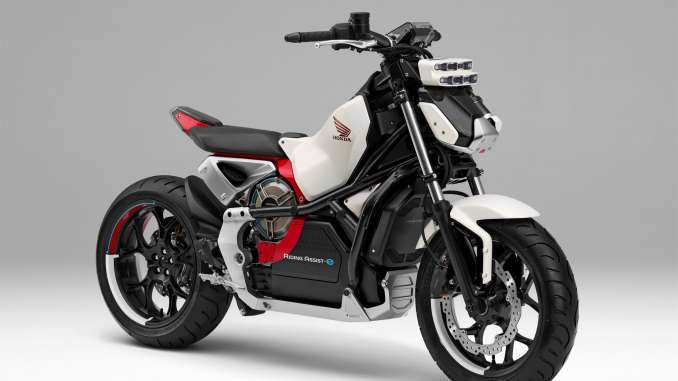 2018 Honda Riding Assist-e Concept