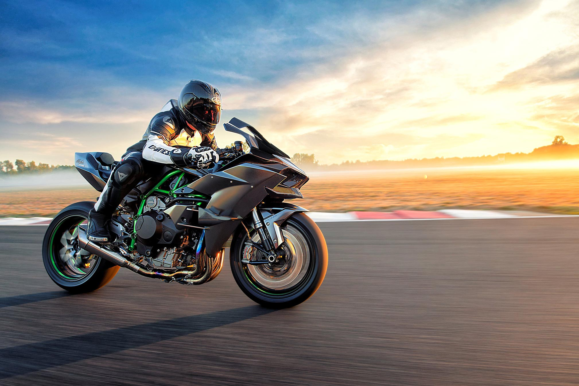 2018 Kawasaki Ninja H2r Review Total Motorcycle