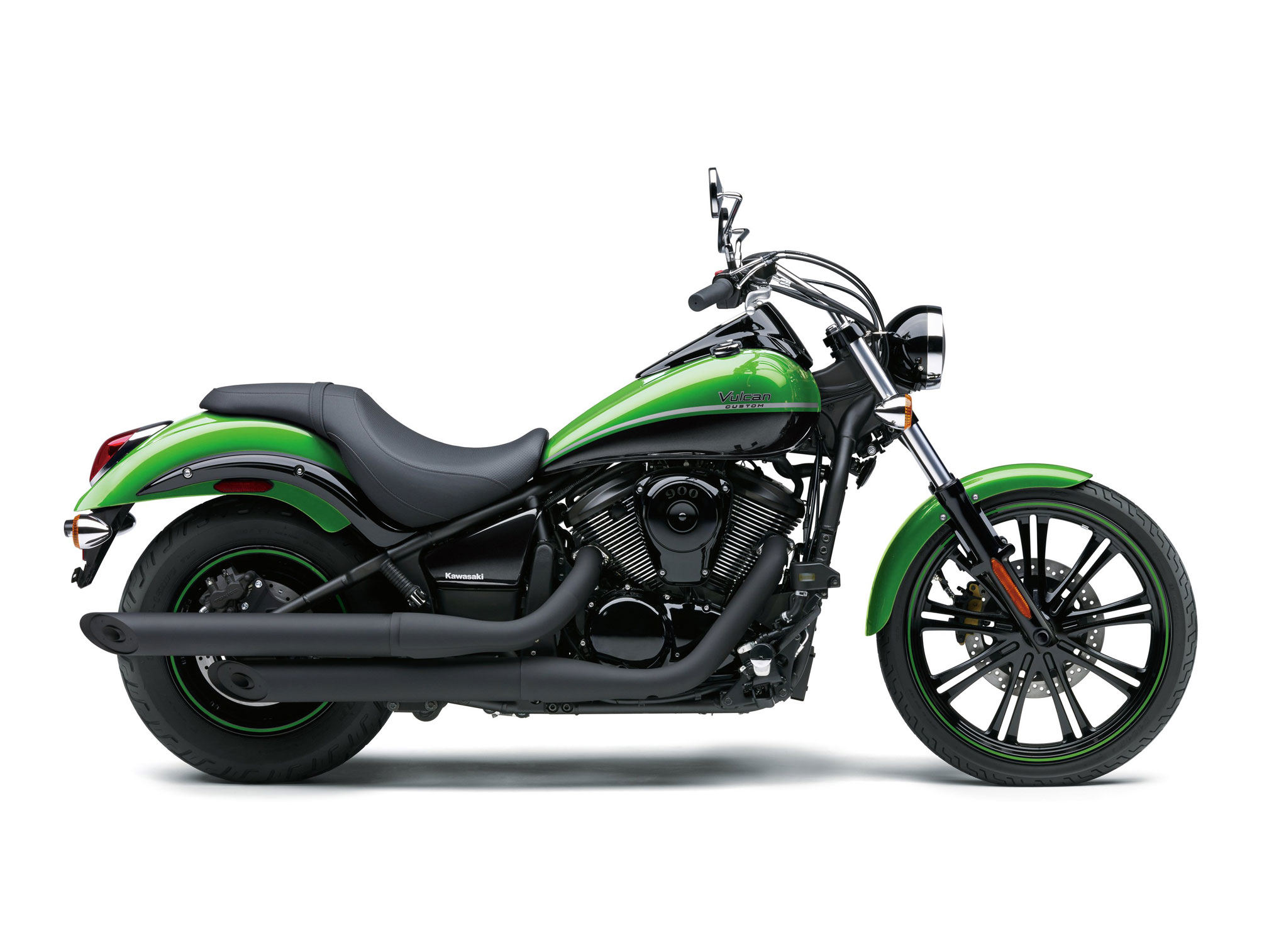 2018 kawasaki vulcan 900 custom review total motorcycle. Black Bedroom Furniture Sets. Home Design Ideas