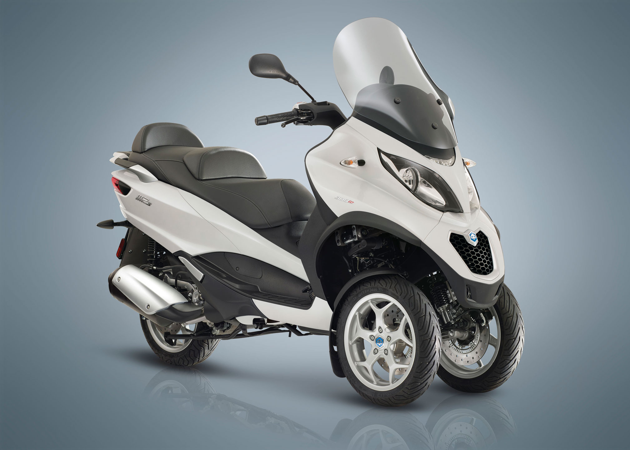 2018 Piaggio Mp3 500 Business Lt Abs Asr Review Total