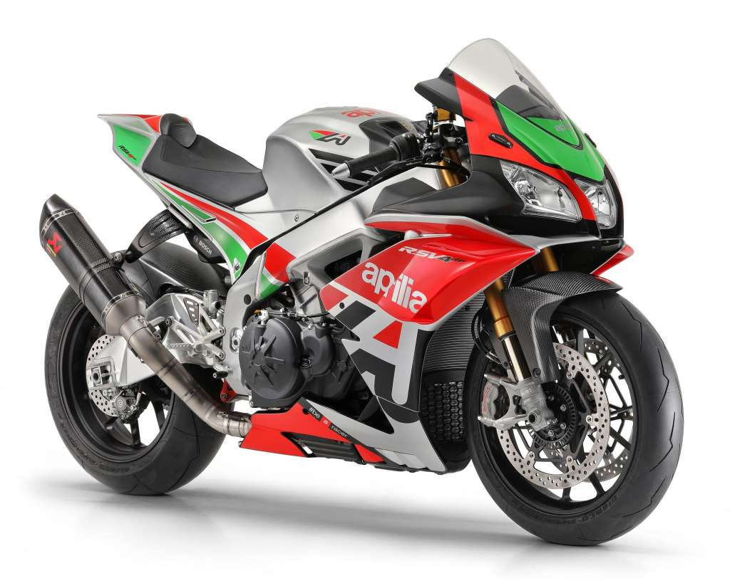2018 Aprilia RSV4 RF/RR Factory Works Kit Review • TotalMotorcycle
