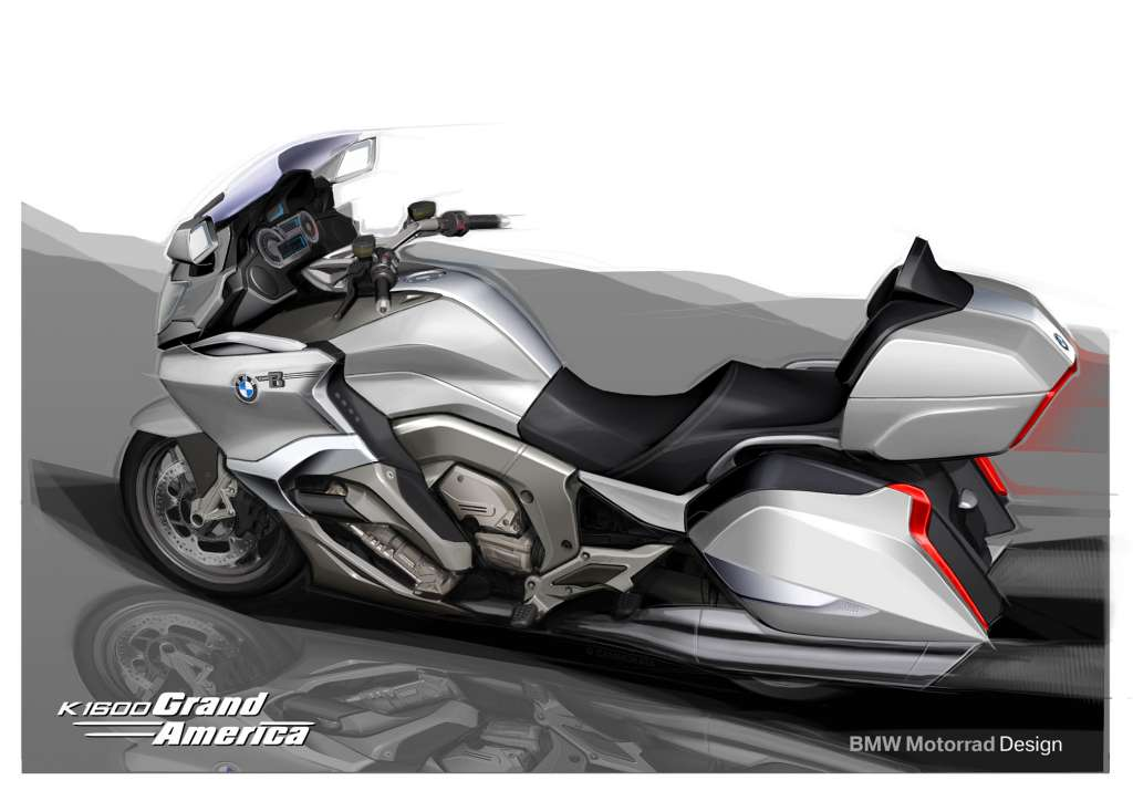 2018 Bmw K1600 Grand America Review Total Motorcycle