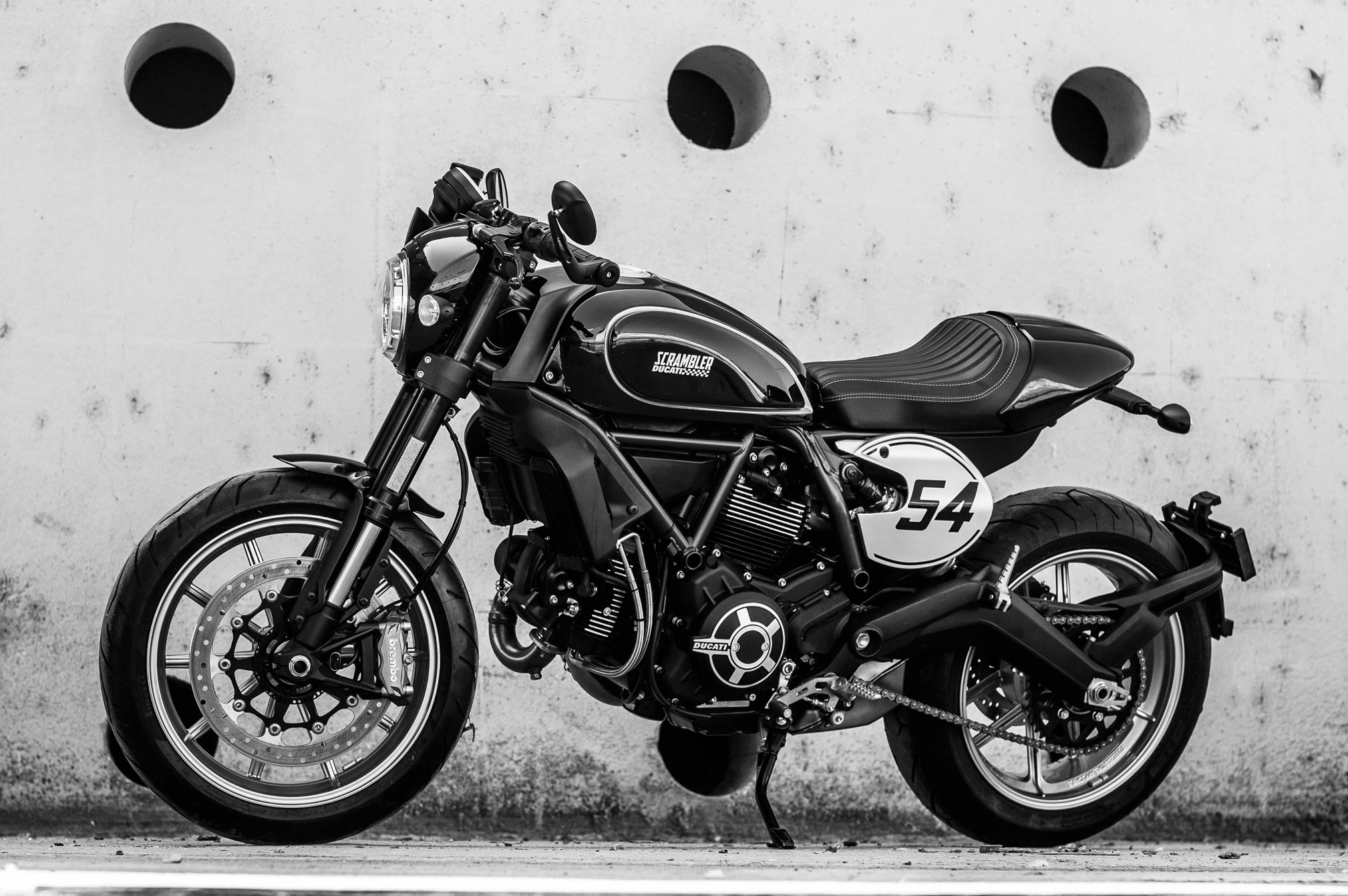 2018 Ducati Scrambler Cafe Racer Review Totalmotorcycle