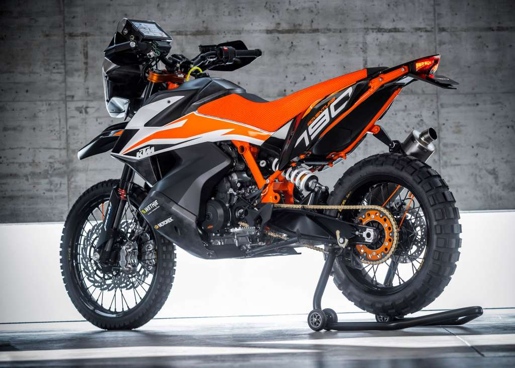 2018 KTM 790 Adventure R Prototype