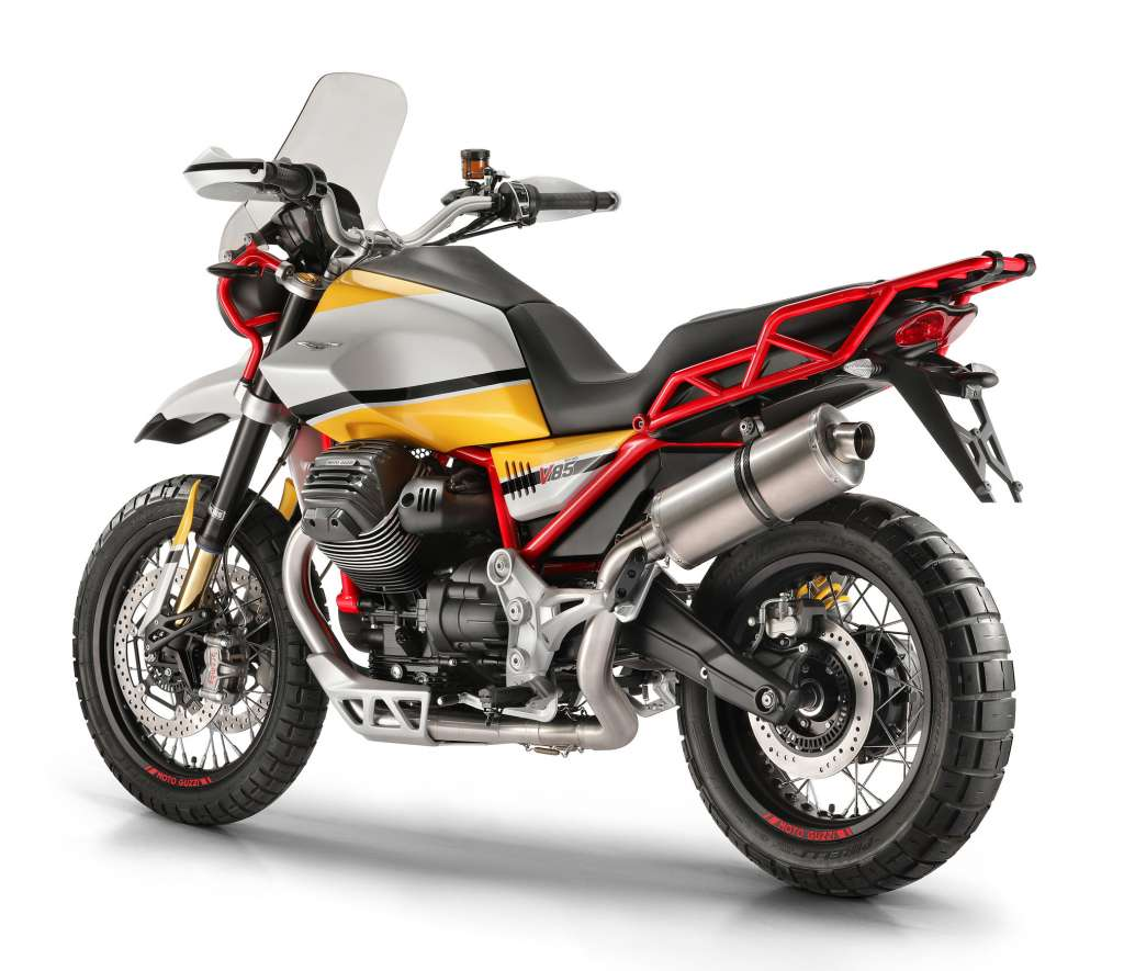 2018 moto guzzi v85 review totalmotorcycle. Black Bedroom Furniture Sets. Home Design Ideas