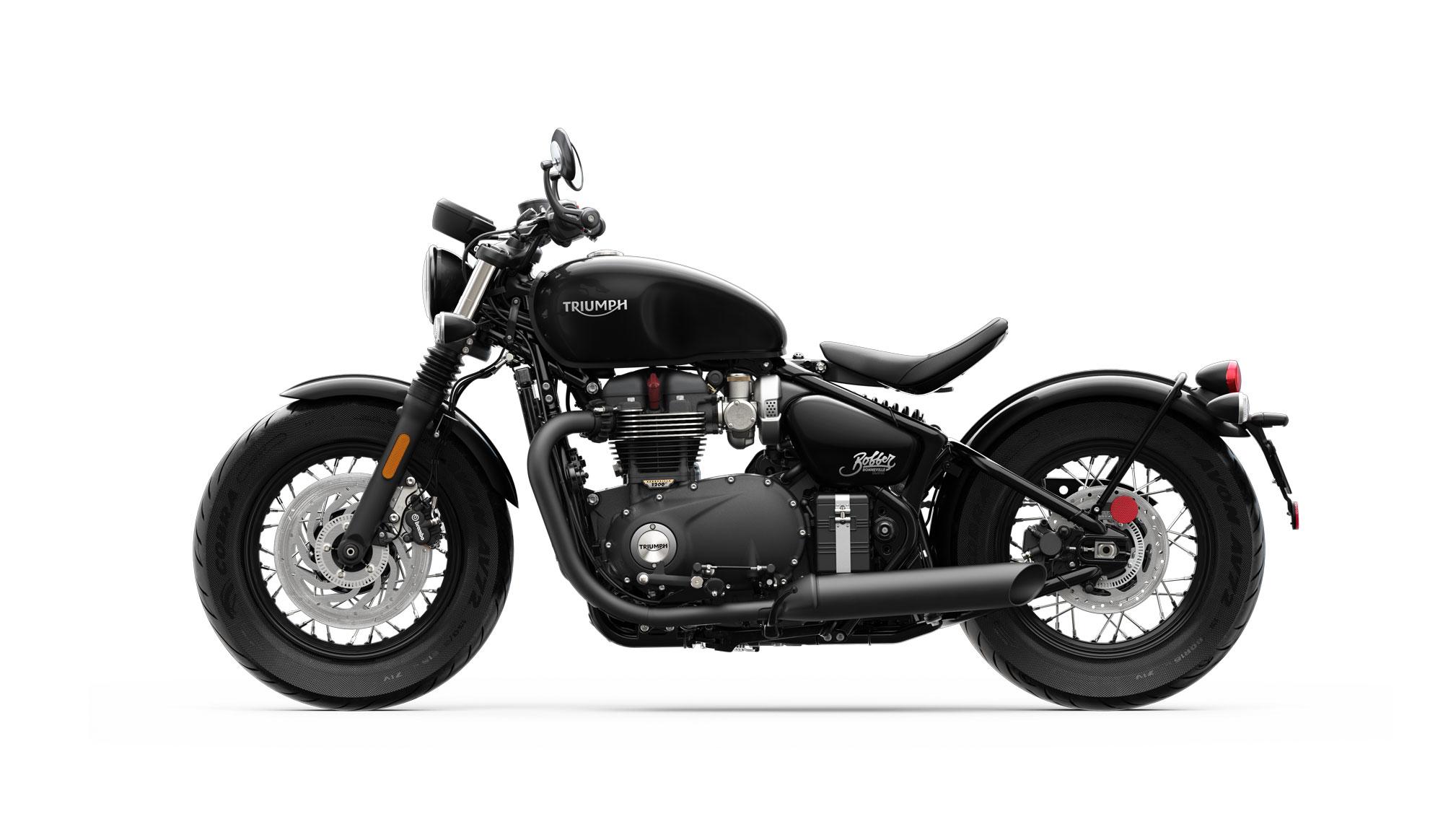 2018 Triumph Bonneville Bobber Black Review Total Motorcycle