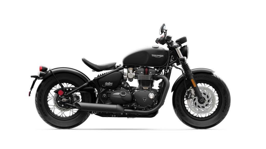 2018 Triumph Bonneville Bobber Black Review - TotalMotorcycle