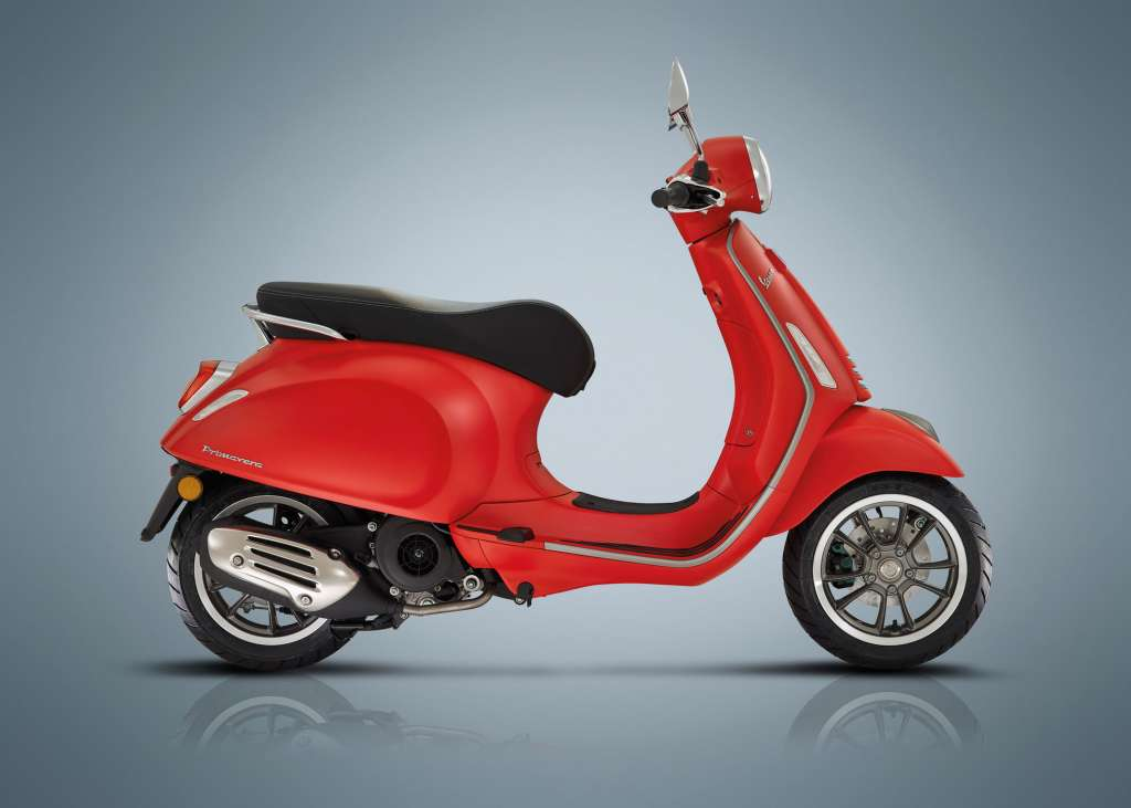 2018 Vespa Primavera 150s Review Total Motorcycle