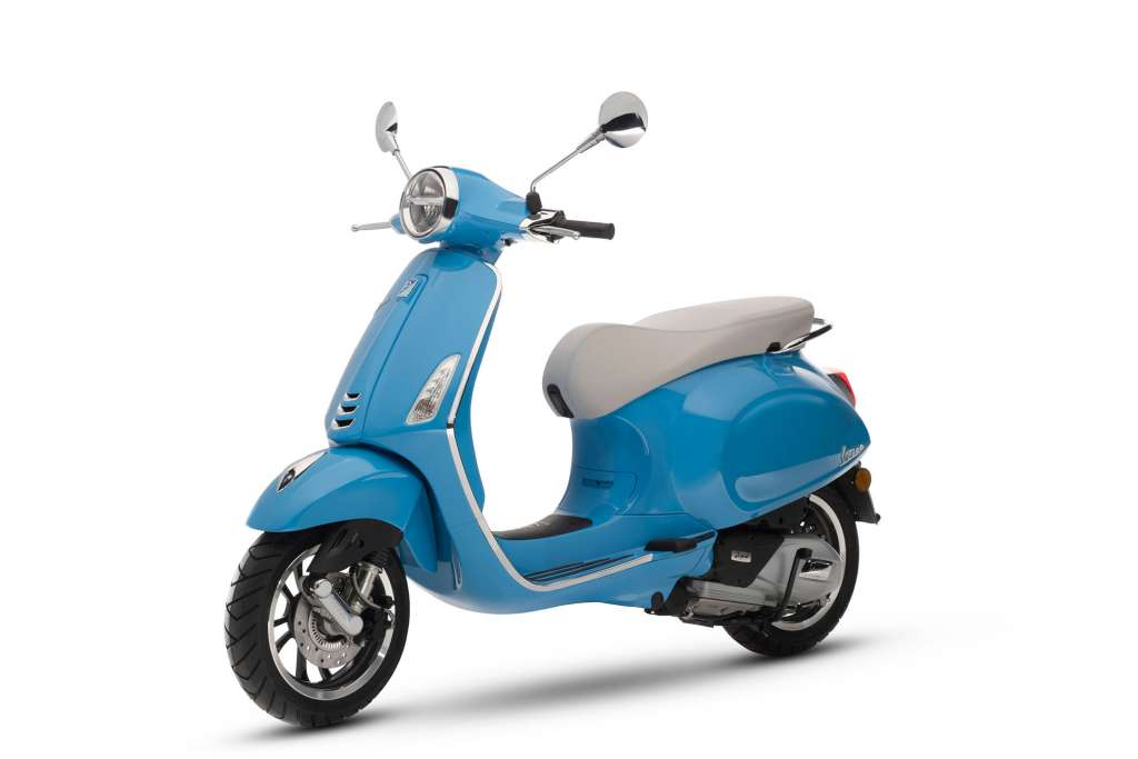 2018 vespa primavera 150 review total motorcycle. Black Bedroom Furniture Sets. Home Design Ideas