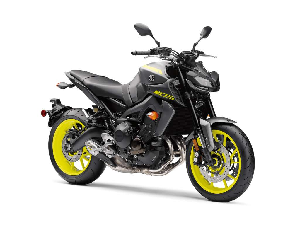 2018 yamaha mt 09 review total motorcycle. Black Bedroom Furniture Sets. Home Design Ideas