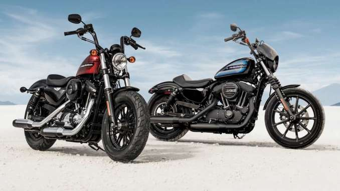 2018 Harley-Davidson Iron 1200 - 2018 Harley-Davidson Forty Eight Special