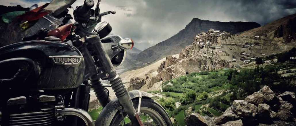 Bonneville to the Himalayas. A journey of rediscovering India