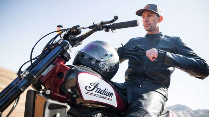 Travis Pastrana to Jump Indian FTR750