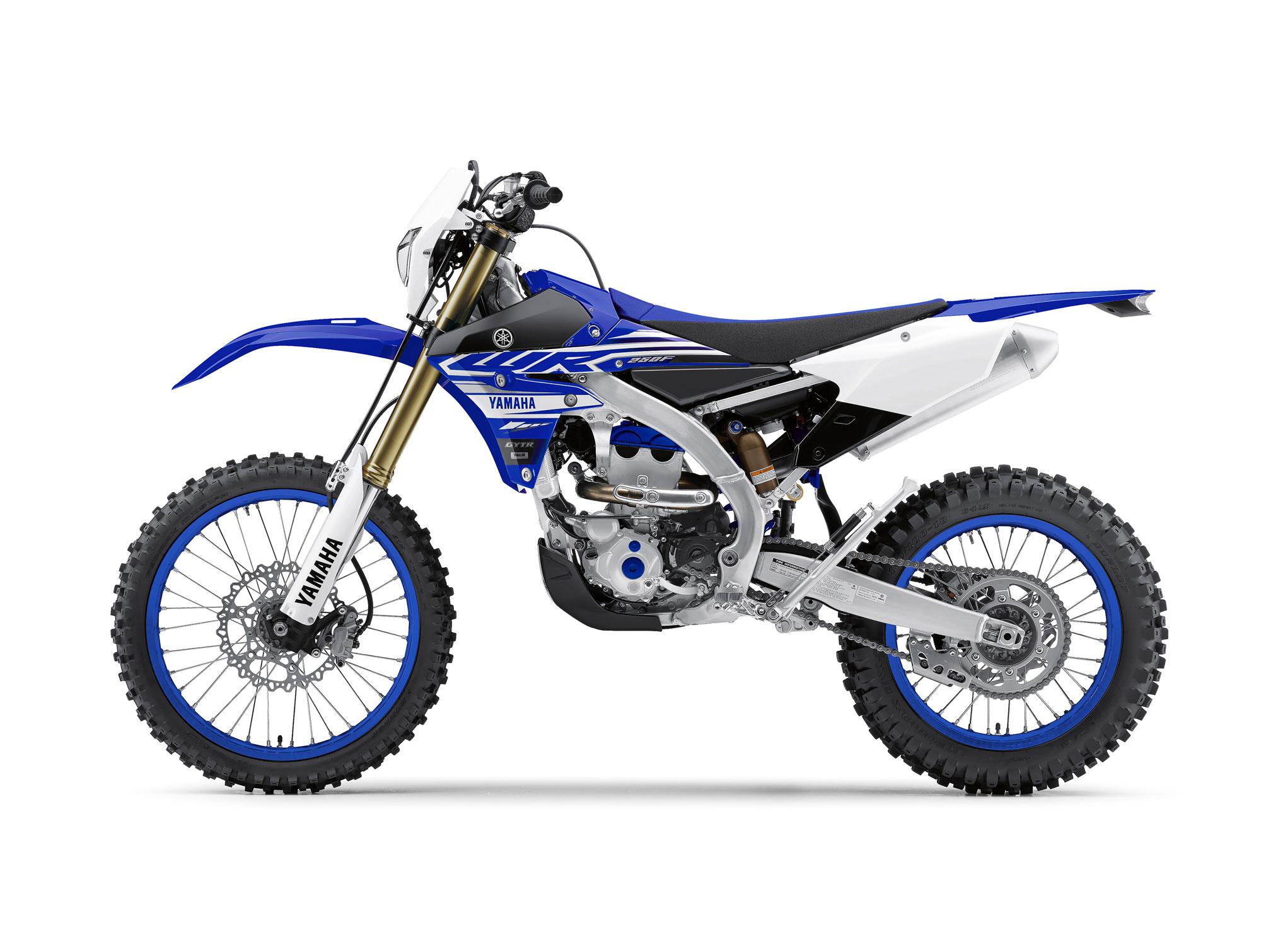 2015 Yamaha WR250F test review impression -- Dirt Bike Test