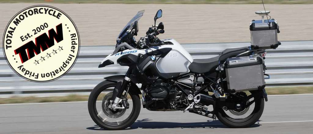 Jaw Dropping Autonomous Driving BMW R1200GS
