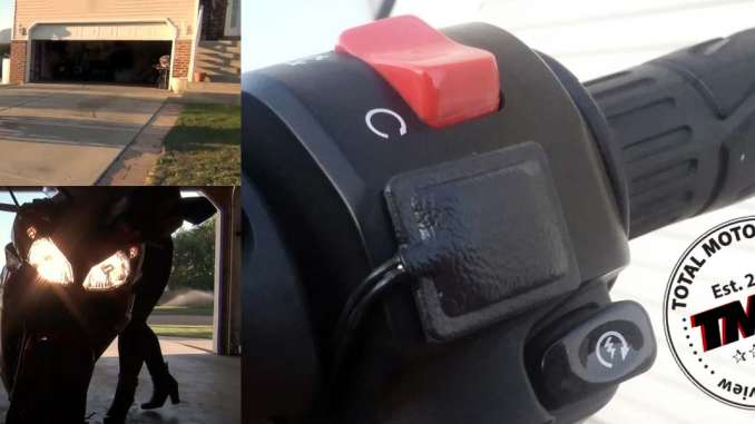 Review: Mo-Door Motorcycle Garage Door Opener