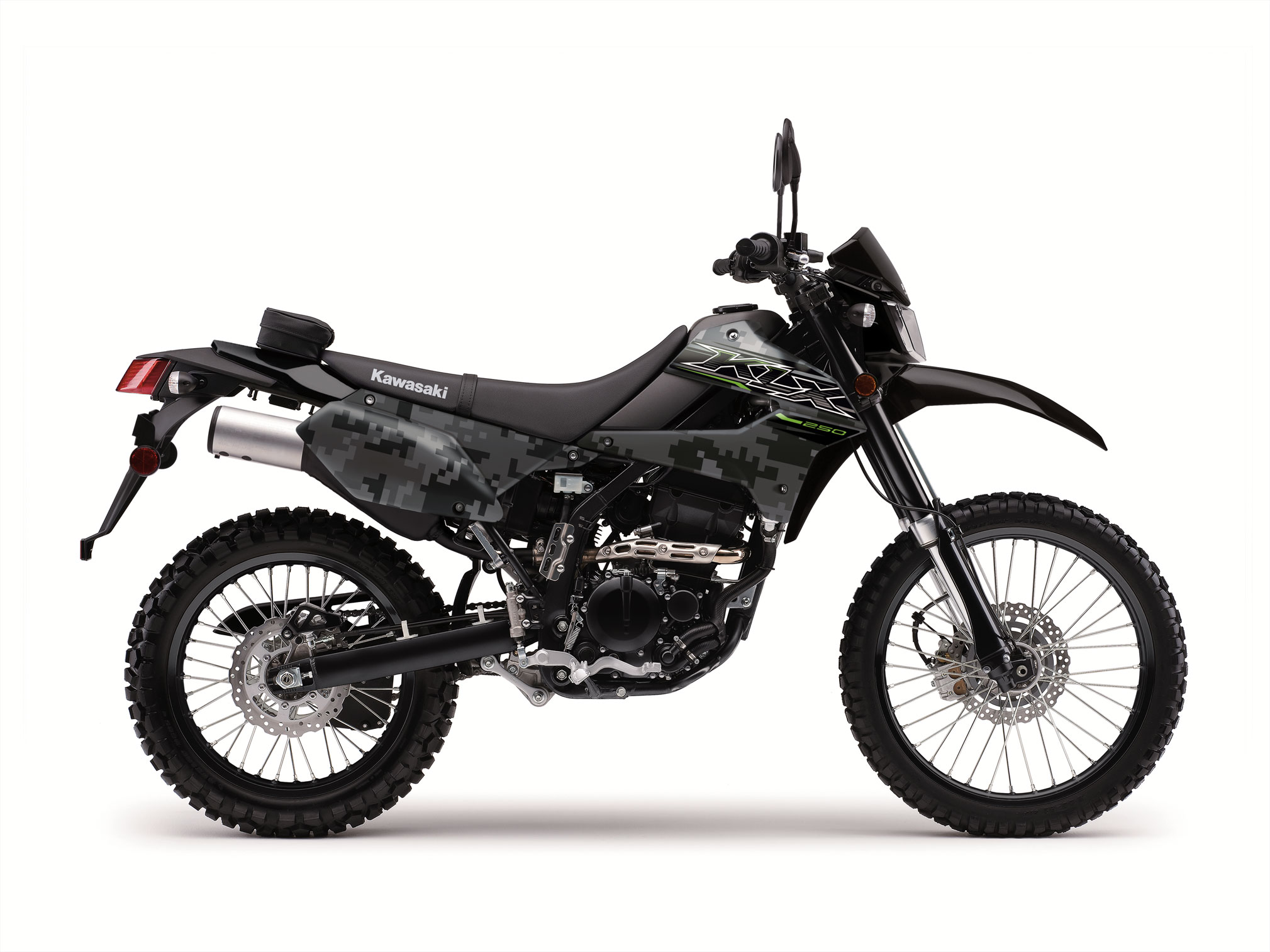 2019 Kawasaki KLX250S Camo Guide • Total Motorcycle