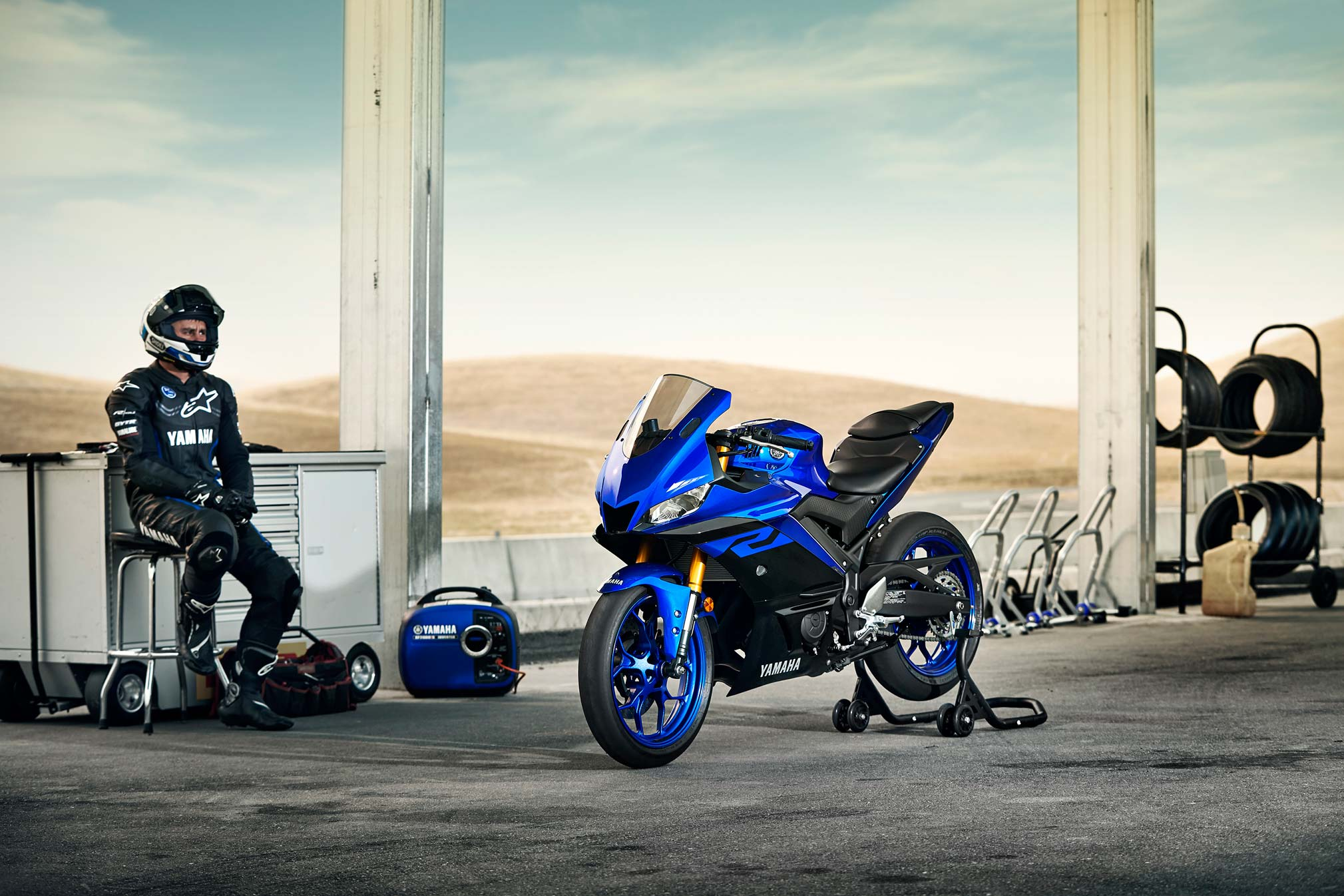 2019 yamaha yzf-r3 guide • total motorcycle