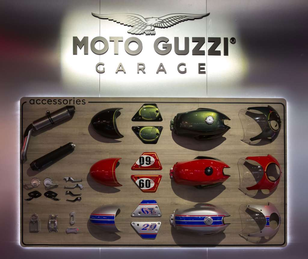 2019 Moto Guzzi V7 III Stripes Accessories Kit