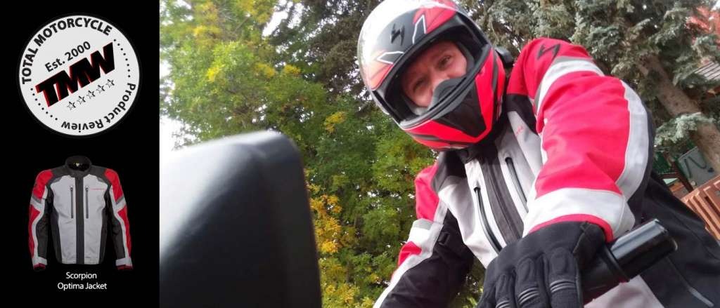 Optima Jacket by Scorpion - TMW Reviews!