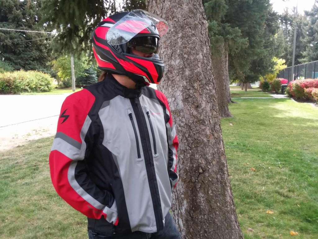 Optima Jacket, upright frontal