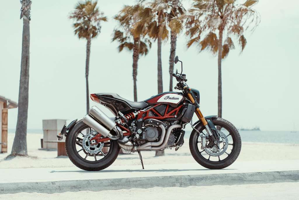 Indian Motorcycle Makes Akrapovič Exhaust Stock on FTR 1200 S with Race Replica Paint
