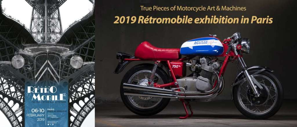 2019 Paris Rétromobile Exhibition: 100+ motorcycles from MV Agusta up for auction