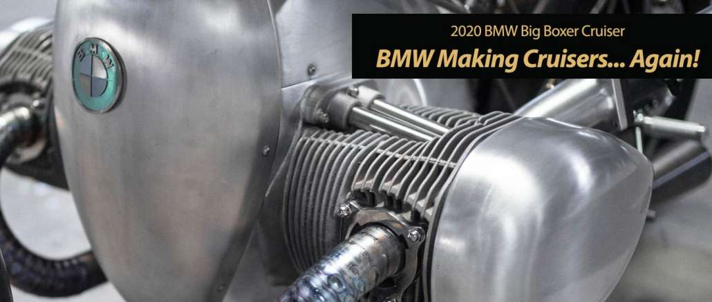 2020 BMW Big Boxer Cruiser a Must See Surprise!