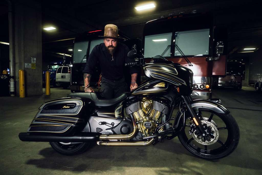 24kt Gold Zac Brown Collective Indian Chieftain Dark Horse