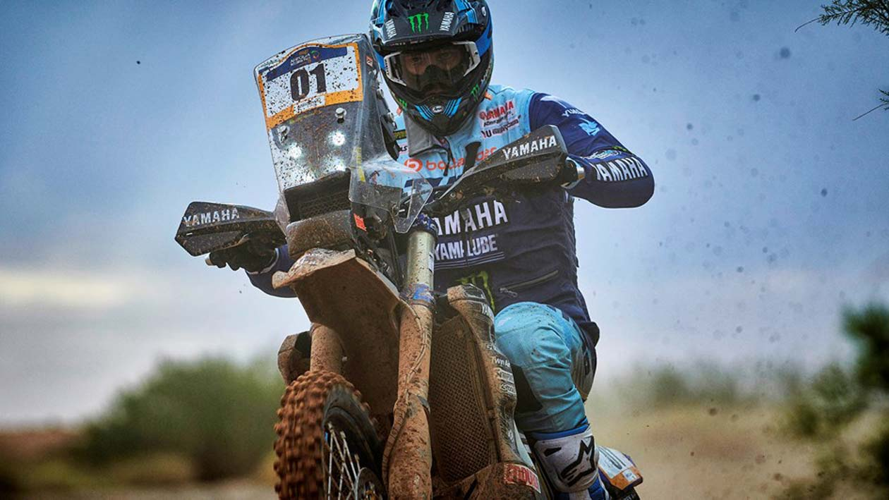 Van Beveren Wins Stage Three To Extend Merzouga Rally Lead