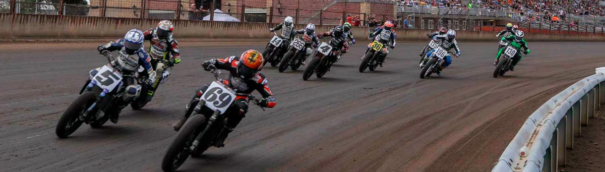 American Flat Track Racing News Daily.