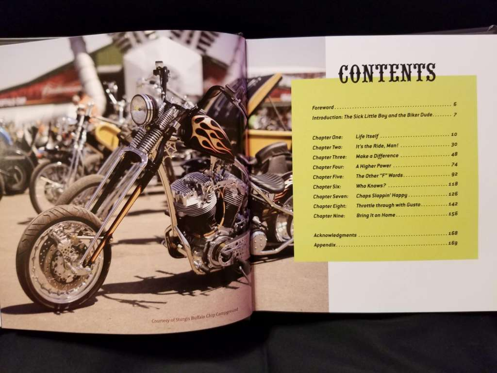Table of Contents -The Meaning of Life According to Bikers