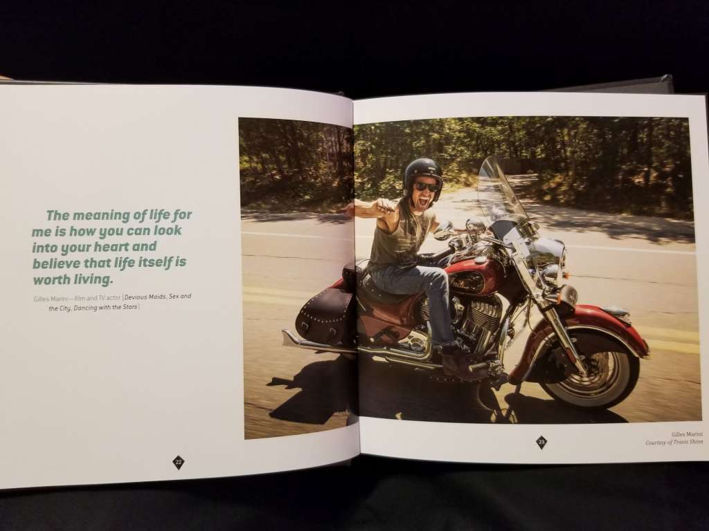 The Meaning of Life: Biker Book of Charity