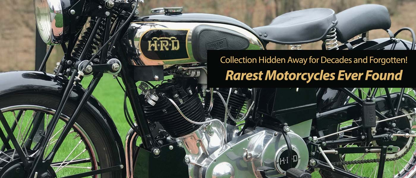 Rider Inspiration: World's Rarest Motorcycles Buried in a Forgotten Los Angeles Warehouse