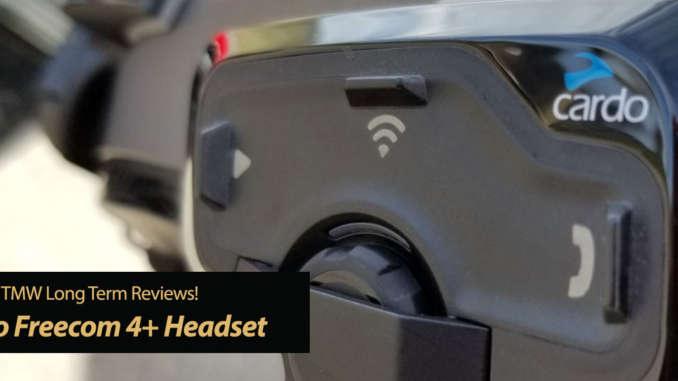 Cardo 4+ Bluetooth Helmet Communicator - TMW Reviews!