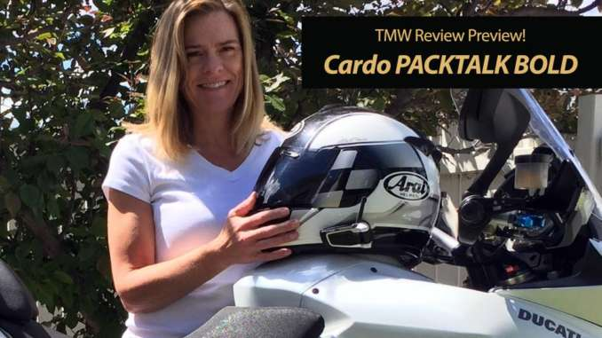 Cardo PACKTALK BOLD - TMW Review Preview!