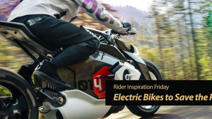 Inspiration Friday: Electric Bikes to Save the Planet?