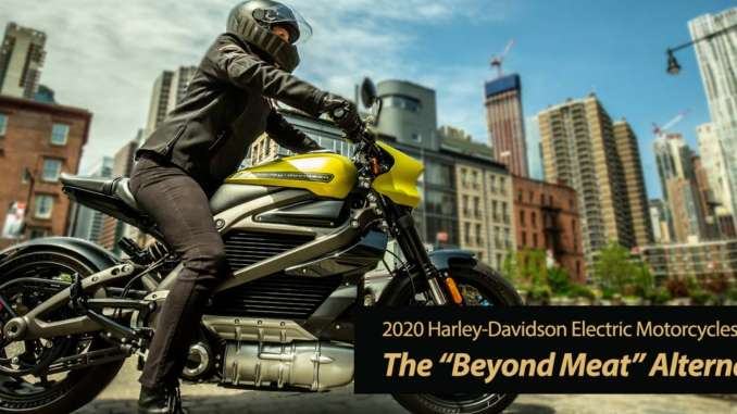 Harley-Davidson to Lead Electrification of Motorcycles