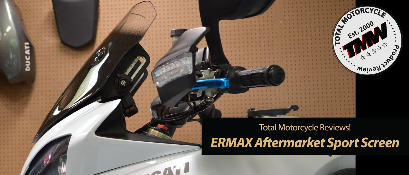 ERMAX Sport Screen – TMW Reviews!