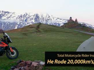 Inspiration Friday: 20000km Madrid to Mongolia 790 Adventure