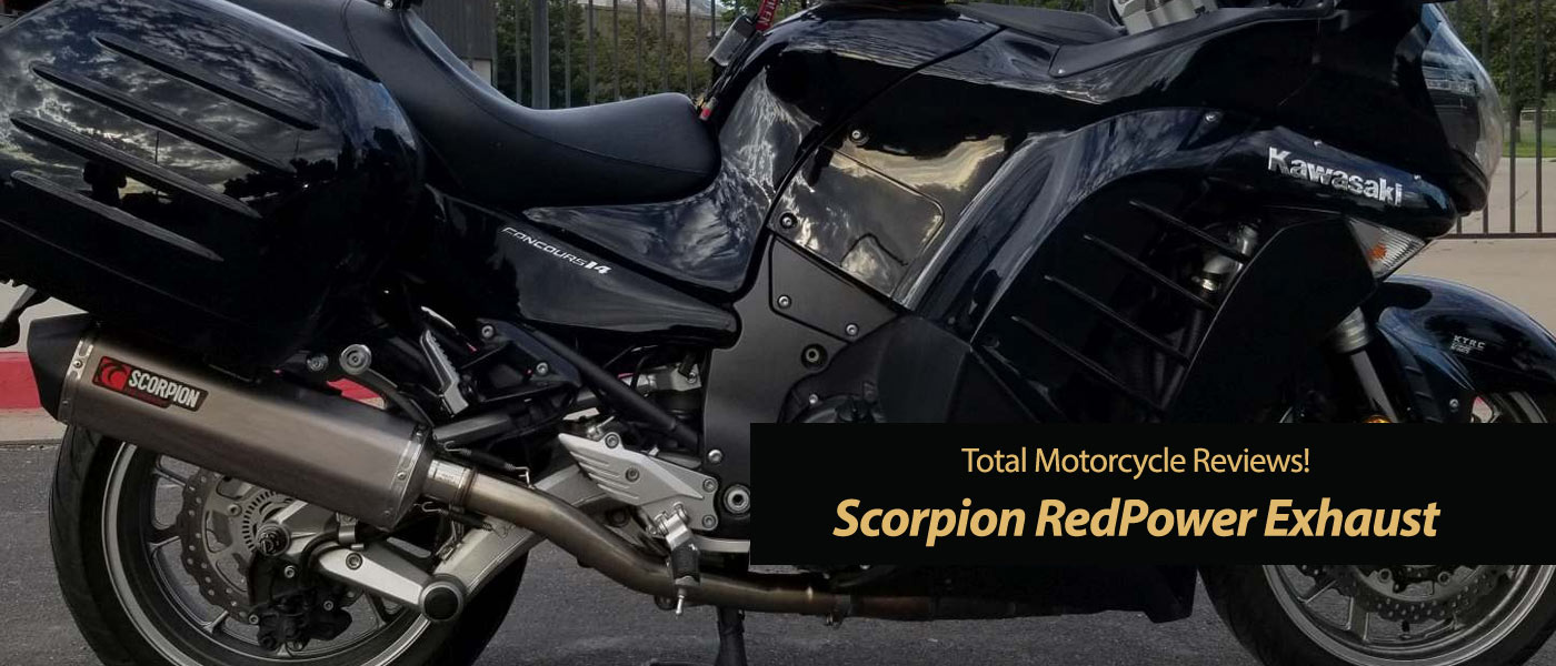 Scorpion RedPower Exhaust - TMW Reviews! • Total Motorcycle