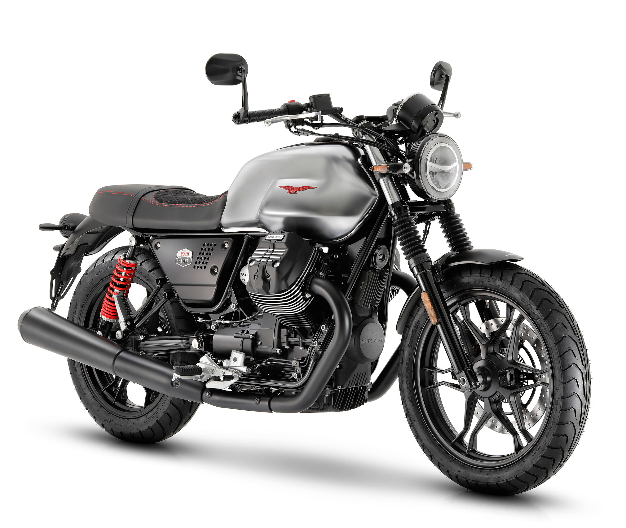 2020 moto guzzi v7 iii stone s guide total motorcycle. Black Bedroom Furniture Sets. Home Design Ideas
