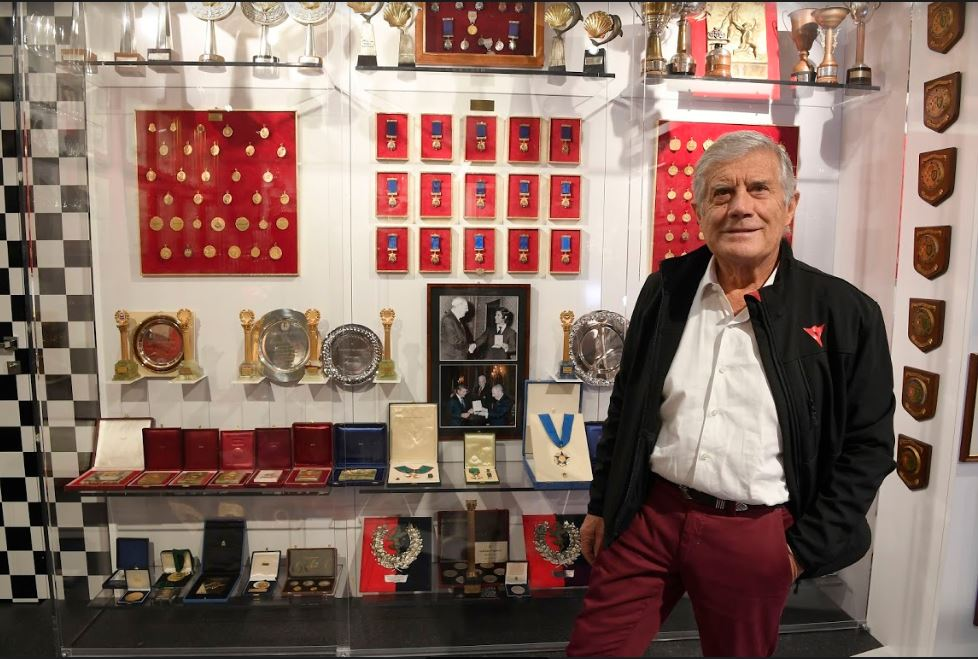 GIACOMO AGOSTINI MV AGUSTA'S RACING LEGEND NOW HAS HIS OWN MUSEUM