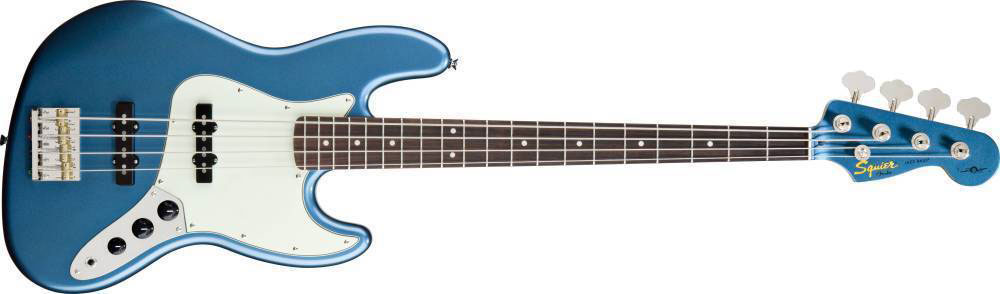 James Johnston Jazz Bass - Lake Placid Blue