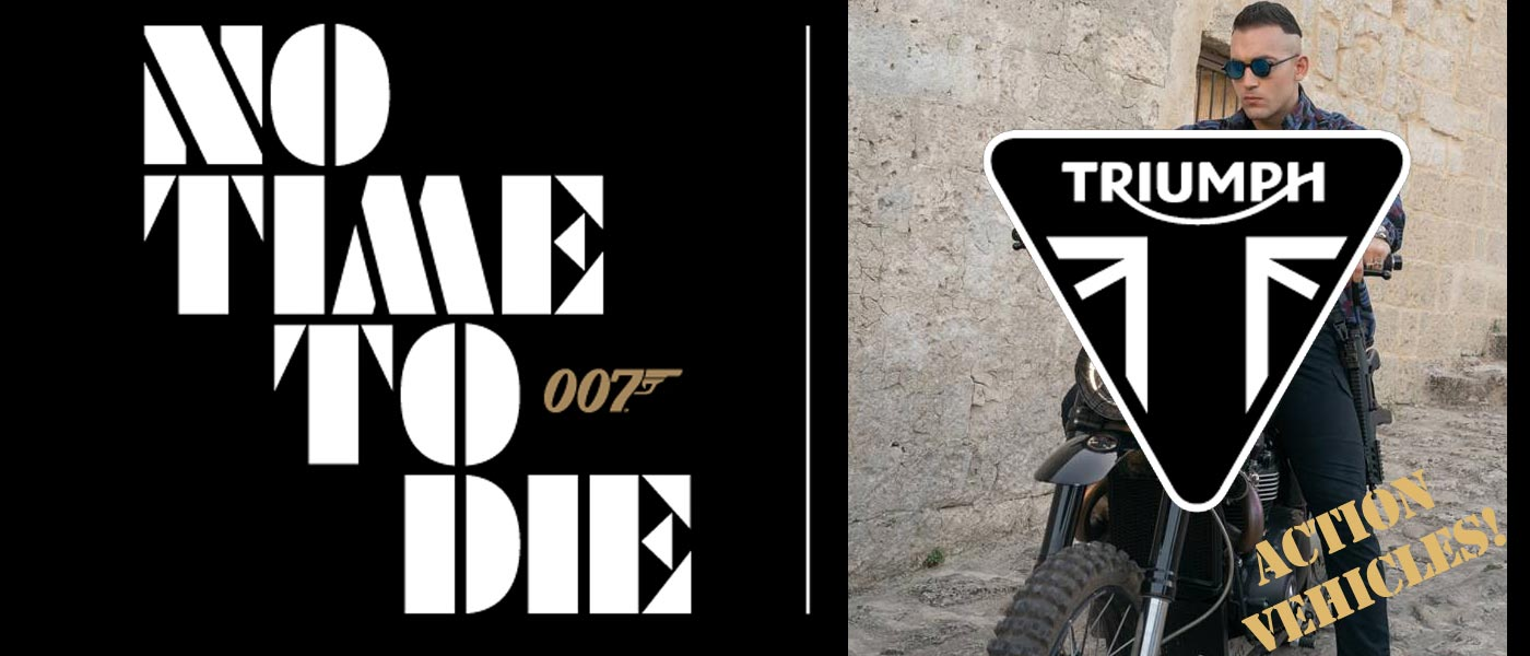 Amazing Action Vehicles From New James Bond 007 Film No Time