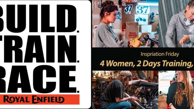 Build Train Race 2020: Highlighting Women and Motorcycle Culture